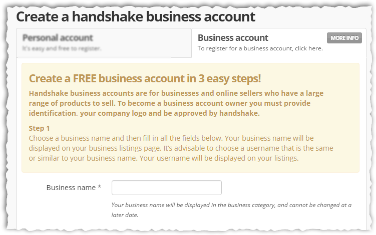 Business account register2